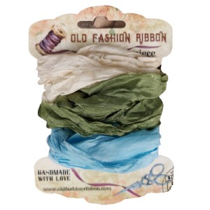 SAM-01  zestaw wstążek old fashion ribbon