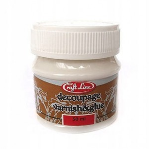 KLD1 Klej i lakier do decoupage 50ml - DECOUPAGE